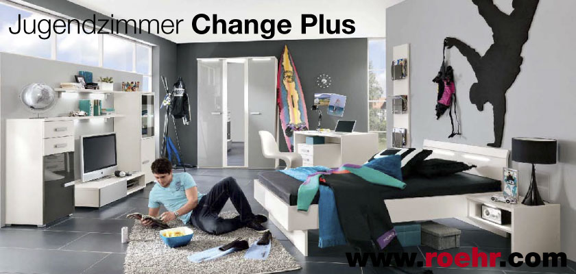 Jugendzimmer Change plus Roehr Bush