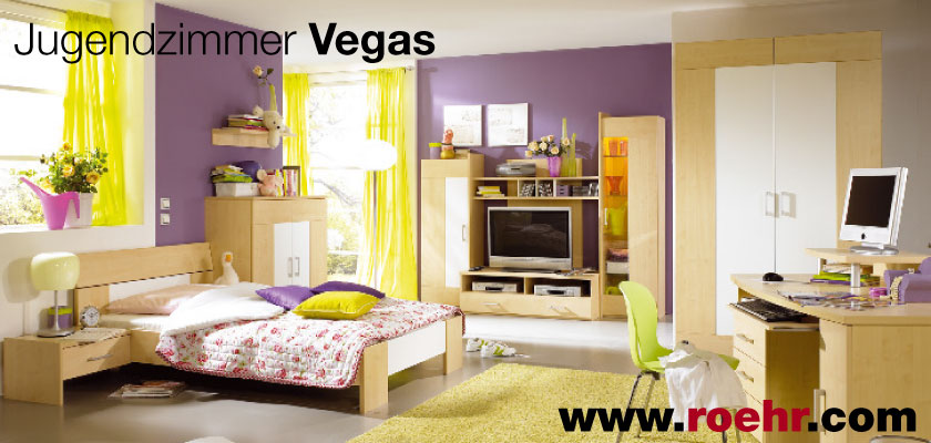 jugendzimmer vegas von r hr zu g nstiges preisen. Black Bedroom Furniture Sets. Home Design Ideas