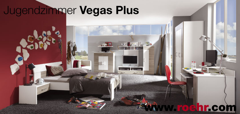 Jugendzimmer Vegas plus Roehr Bush