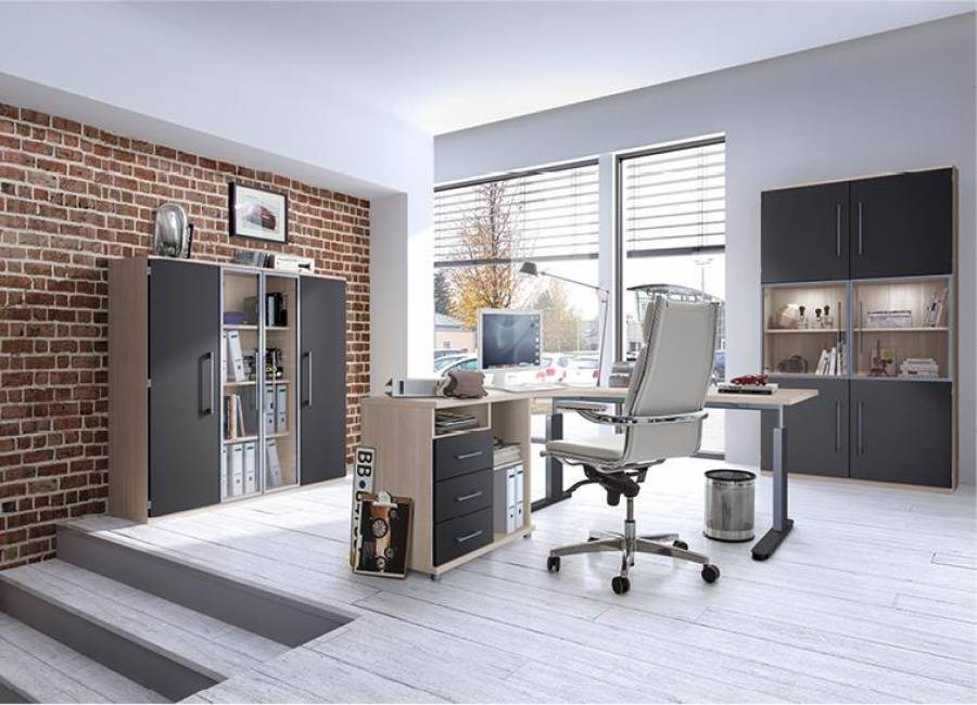 techno komplettangebot profi b ro g nstig kaufen. Black Bedroom Furniture Sets. Home Design Ideas