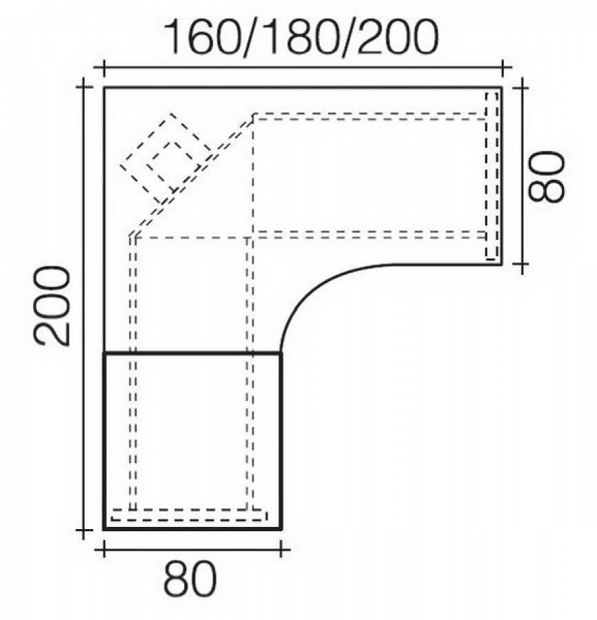 r hr b rom bel objekt plus 184 k39 winkelschreibtisch. Black Bedroom Furniture Sets. Home Design Ideas
