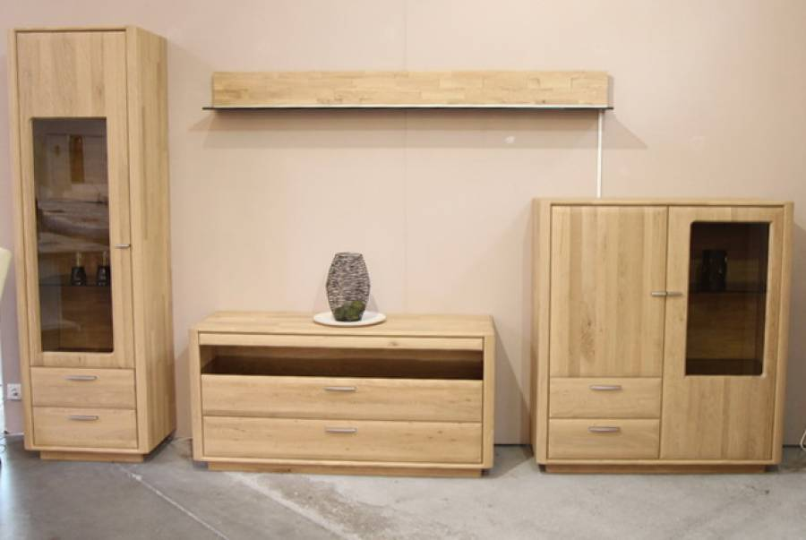 hartmann wohnwand sonderposten g nstig kaufen. Black Bedroom Furniture Sets. Home Design Ideas