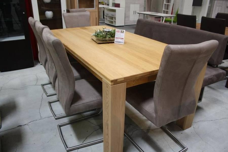 Niehoff Sitzmöbel | Tisch Wildeiche Massiv 8933 47 080   Ausstellungsware
