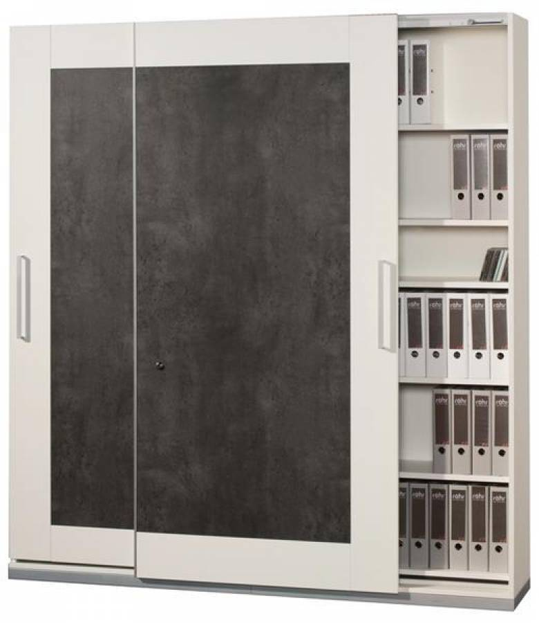 r hr objekt plus aktenschrank 184 1a4 g nstig kaufen. Black Bedroom Furniture Sets. Home Design Ideas