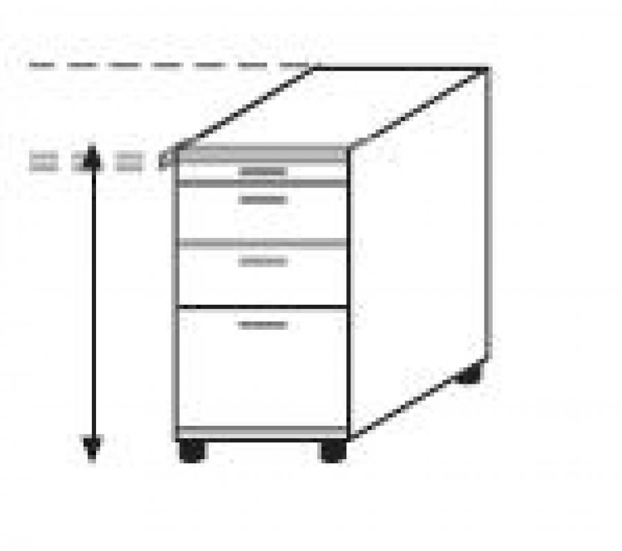 r hr techno anstellcontainer 016 534 535 kaufen. Black Bedroom Furniture Sets. Home Design Ideas