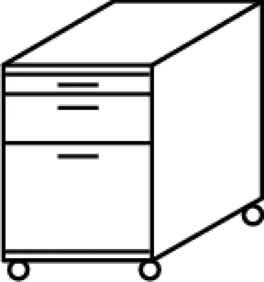r hr techno rollcontainer 016 549 g nstig kaufen. Black Bedroom Furniture Sets. Home Design Ideas