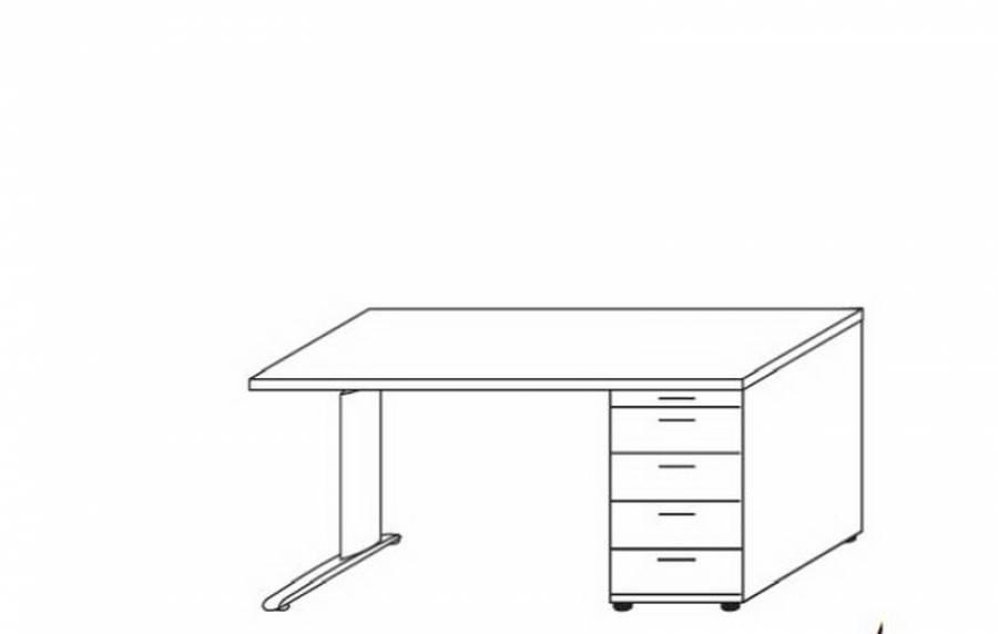 Röhr Techno - Schreibtisch 016-730r/-735l kaufen.