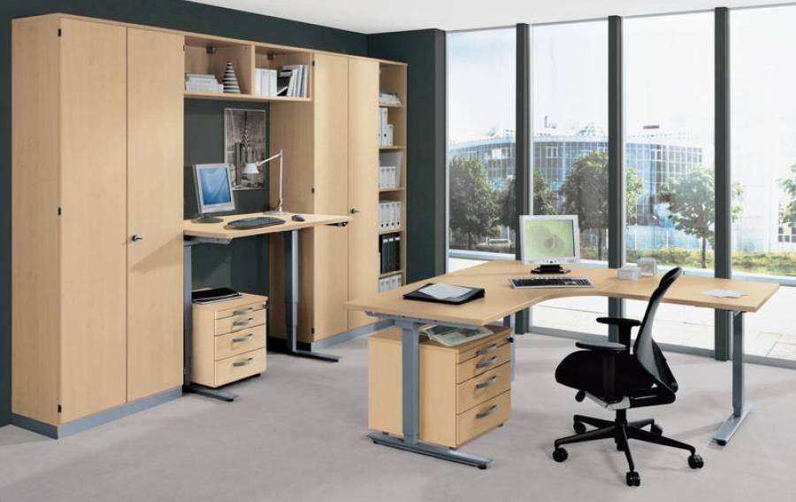 r hr techno lvr10030816 rechteckschreibtisch kaufen. Black Bedroom Furniture Sets. Home Design Ideas