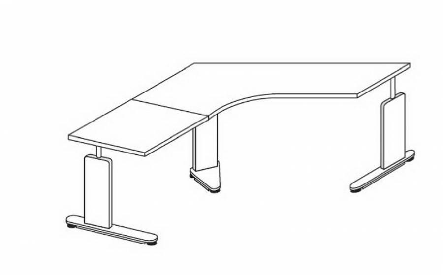 Röhr Techno - Schreibtisch 016-A82r/-C93l kaufen.