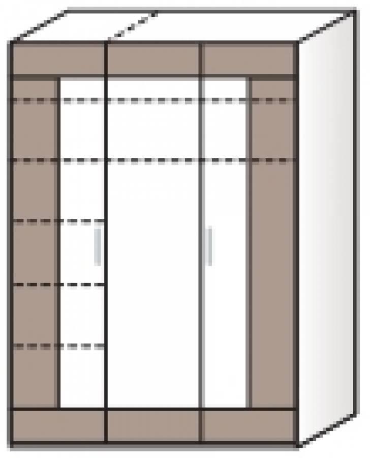r hr vegas plus kleiderschrank 261 027 0000 kaufen. Black Bedroom Furniture Sets. Home Design Ideas