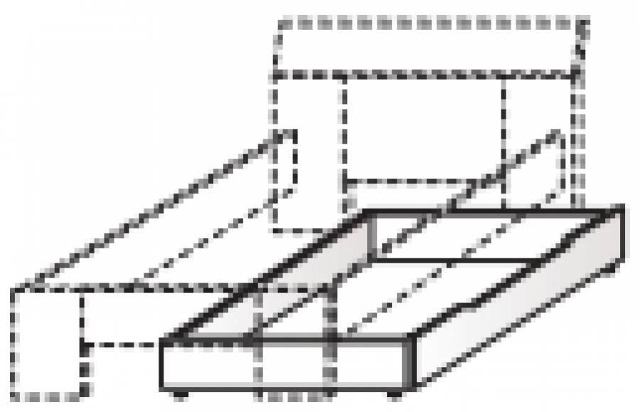 r hr vegas plus bettschubkasten 261 961 0000 kaufen. Black Bedroom Furniture Sets. Home Design Ideas