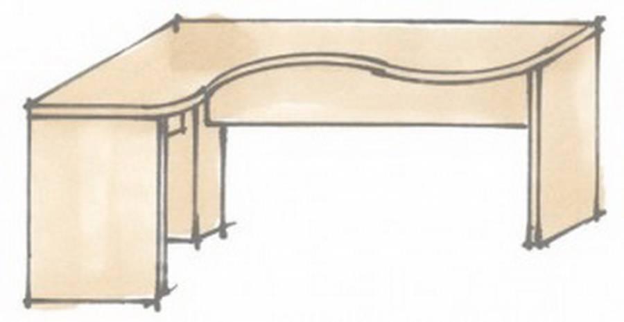 r hr vegas plus schreibtisch 261 wangenschreibtisch kaufen. Black Bedroom Furniture Sets. Home Design Ideas