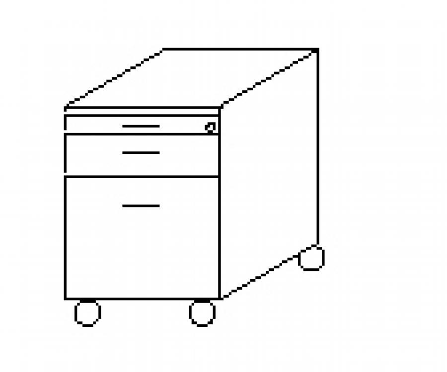 Wellemöbel Hyper - Rollcontainer 72565 günstig kaufen