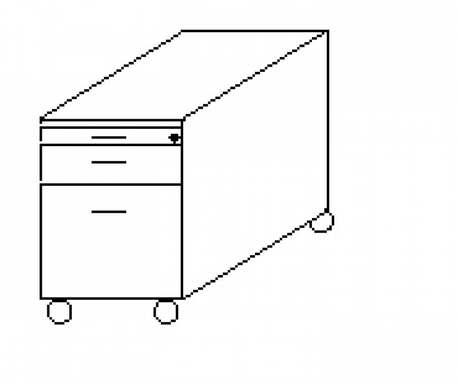 Wellemöbel Hyper - Rollcontainer 73850 günstig kaufen