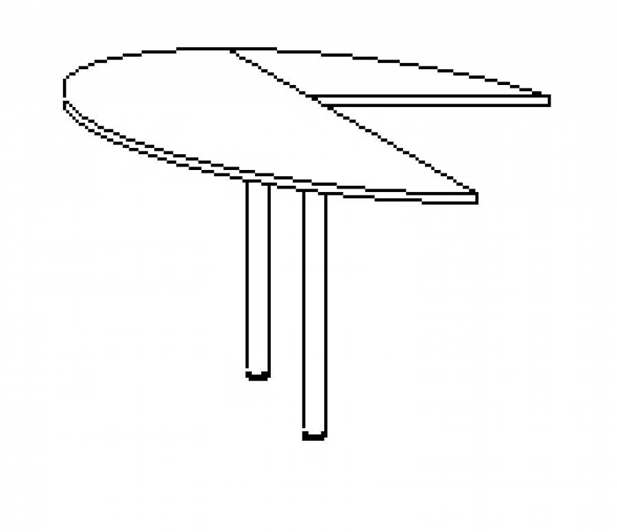 Wellemöbel Hyper - Schreibtisch 72465 günstig kaufen