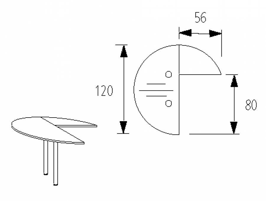 Wellemöbel Hyper - Schreibtisch 72562 günstig kaufen