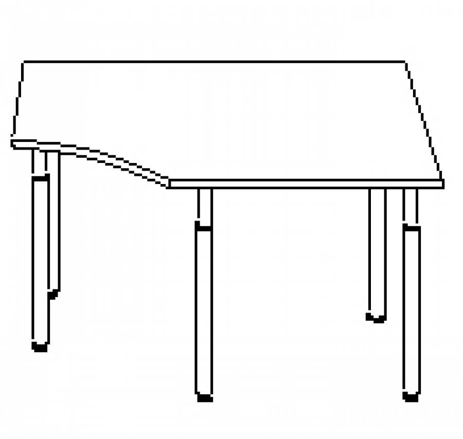 Wellemöbel Hyper - Schreibtisch 72578 günstig kaufen
