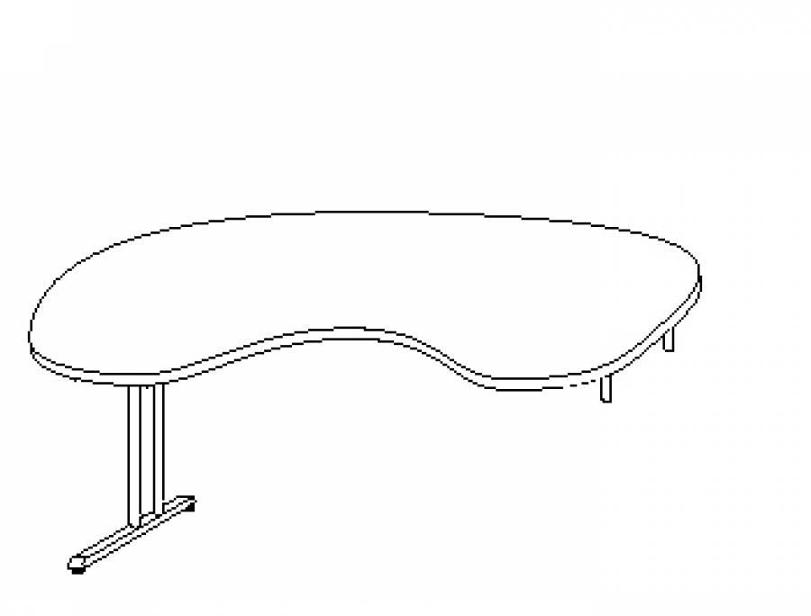 Wellemöbel Hyper - Schreibtisch 73763 günstig kaufen