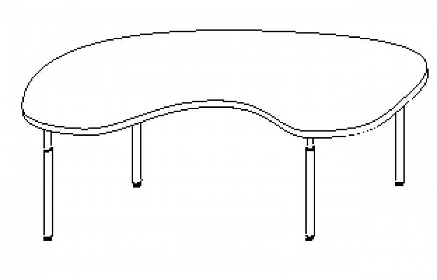 Wellemöbel Hyper - Schreibtisch 73769 günstig kaufen