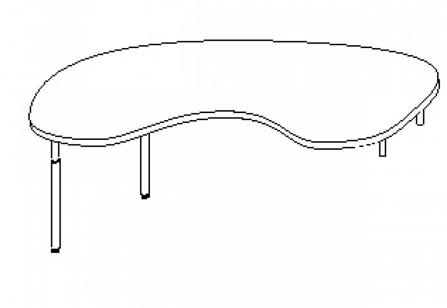 Wellemöbel Hyper - Schreibtisch 73764 günstig kaufen