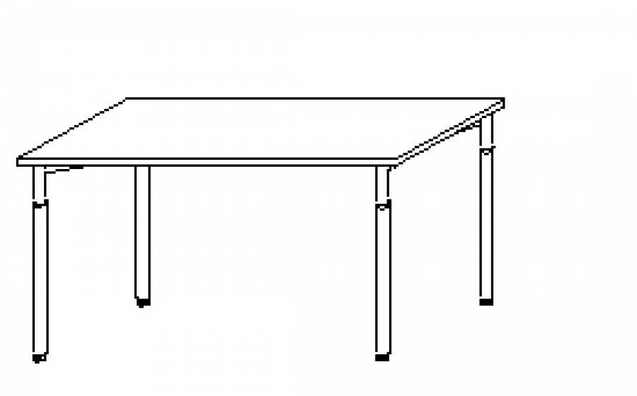 Wellemöbel Hyper - Schreibtisch HY-4-60 günstig kaufen