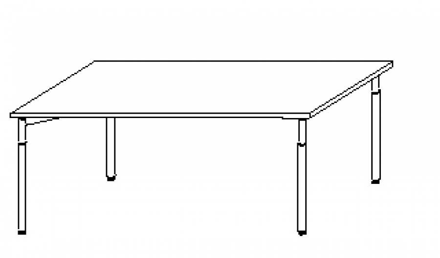 Wellemöbel Hyper - Schreibtisch HY-4-90 günstig kaufen