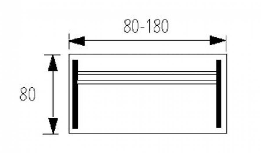 Wellemöbel Hyper - Schreibtisch HY-C-80 günstig kaufen