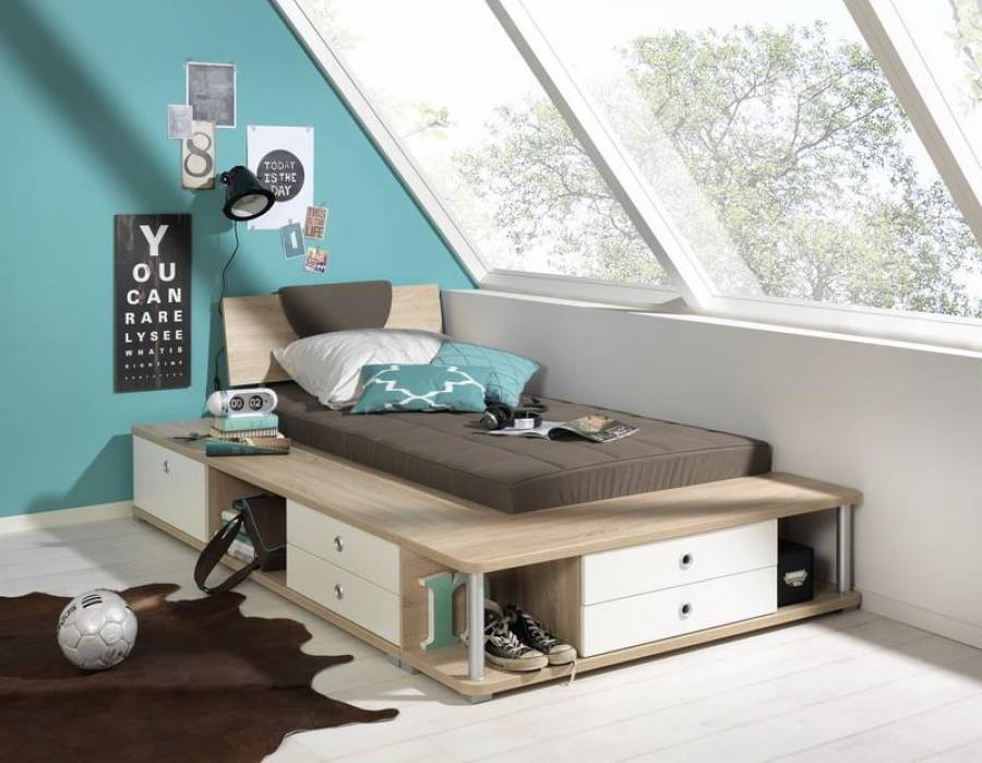 wellem bel teenio bett 84340 84341 g nstig kaufen. Black Bedroom Furniture Sets. Home Design Ideas