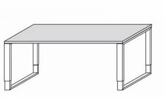 Schreibtisch kufen for Buromobel stehpult
