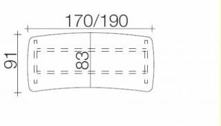r hr techno schreibtisch 016 e38 e39 g nstig kaufen. Black Bedroom Furniture Sets. Home Design Ideas