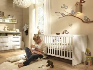 Wellemöbel Milla   Kinderbett Mit 2 Gitterbettseiten