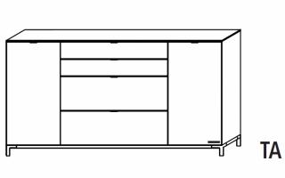 Wellemobel Chiraz Kommode 42534 Gunstig Kaufen