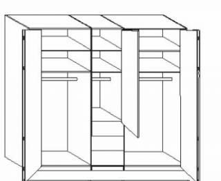 wiemann loft schwebet renschrank loft 439 443 kaufen. Black Bedroom Furniture Sets. Home Design Ideas