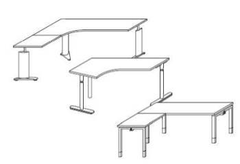 Techno Schreibtischplatten