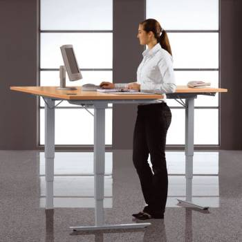Techno Schreibtisch mit elektrischer Höheneinstellung