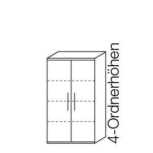 4 Ordnerhöhen (146,9 cm)