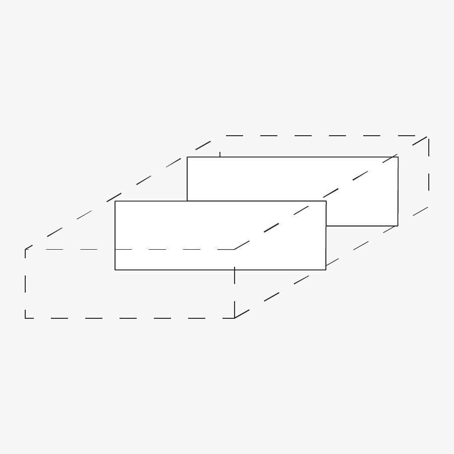 trennstege 2er set f r rolllcontainer direkt von r hr. Black Bedroom Furniture Sets. Home Design Ideas