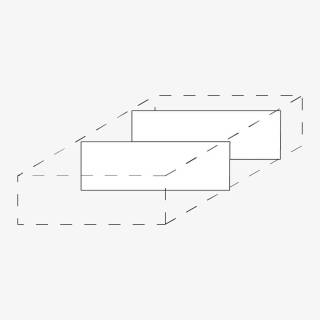 Röhr Techno   Zubehör Schubkasten Trennstege 2 tlg.Set / 2x Quereinteilung