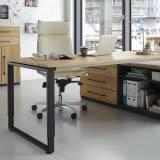 Röhr Objekt.Pur | Schreibtischanbauteil mit 2 Ablagefächer - 80,0 x 58,5 x 40,0 cm