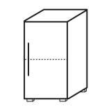 Röhr Objekt.Plus | Aktenschrank 2OH, 1 Tür Anschlag rechts, 1 E.-Boden, 40 cm breitt