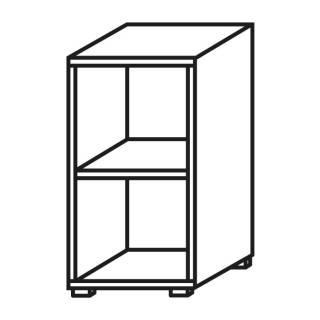 Röhr Objekt.Plus | Aktenregal 2OH, offen, 1 E.-Boden, 40 cm breit
