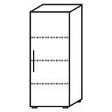 Röhr Objekt.Plus | Aktenschrank 4OH, 1 Tür Anschlag rechts, 2 E.-Böden, 1 Boden fest, 60 cm breit