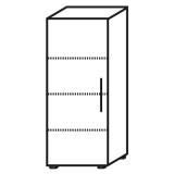 Röhr Objekt.Plus | Aktenschrank 4OH, 1 Tür Anschlag links, 2 E.-Böden, 1 Boden fest, 60 cm breit