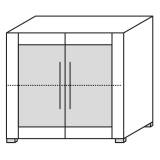 Röhr Objekt.Plus | Aktenschrank 2OH, 2 Türen...
