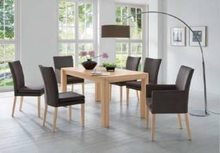 Niehoff Sitzmöbel | COLORADO Stuhlsystem - mit 4-Fuß aus Holz 0741-xx-xxx