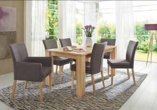 Niehoff Sitzmöbel | COLORADO Stuhlsystem - mit 4-Fuß aus Holz und mit Armlehnen 0742-xx-xxx