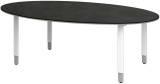 Röhr Objekt.Plus   Konferenztisch mit Ovalplatte 220x110cm -  Type 297