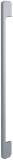 Röhr - Designgriff M1 - Metall in alusilberfarbig