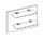 Wiemann Catania   Nachtschrank-Paneel, 1 Holzboden - mit Beleuchtung