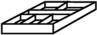 Röhr Objekt.Plus - Schukasteneinsatz Materialschale  Type 861